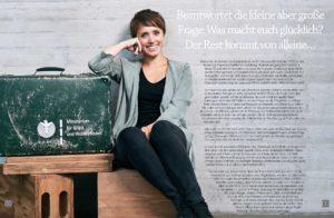 Pure & Positive, Doris Gross, Christin Prizelius, Gina Schöler, Ministerium für Glück und Wohlbefinden
