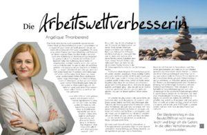 Pure & Positive, Doris Gross, Christin Prizelius, Arbeitsweltverbesserin, Angelique Thranberend