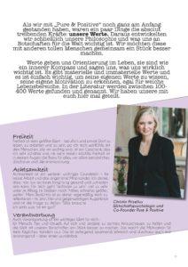 Pure & Positive, Doris Gross, Christin Prizelius