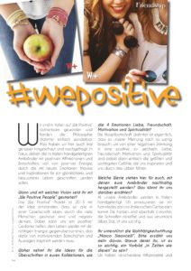 Pure & Positive, Doris Gross, Christin Prizelius, We Positive People